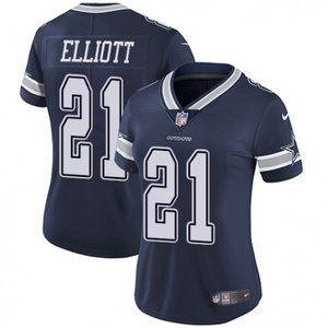 Women Cowboys Ezekiel Elliott Jersey 2